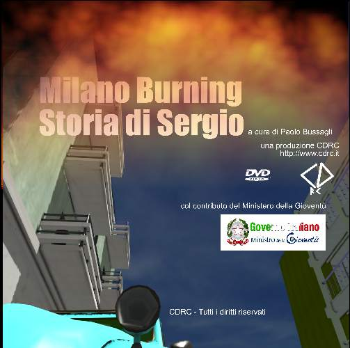 milano burning dvd